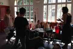Tournée atelier Leslie St Brice en Coglès